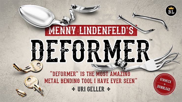 Deformer - Bend & Twist metal objects like never before possible.