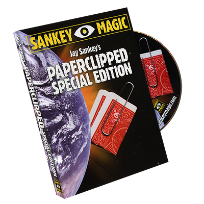 Paperclipped Special Edition by Jay Sankey – DVD – Discounted Magic